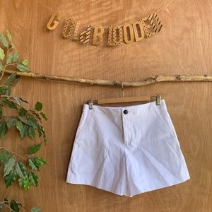 Rag and bone structured shorts